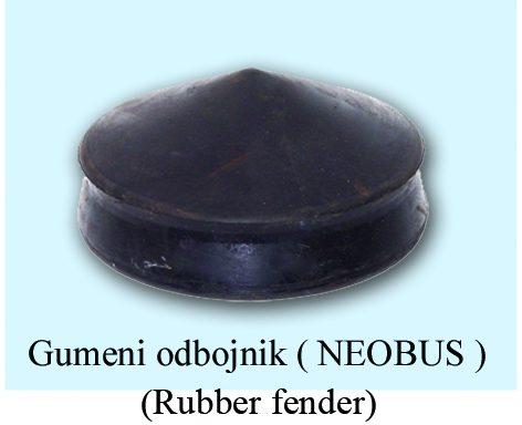 Gumeni odbojnik NEOBUS