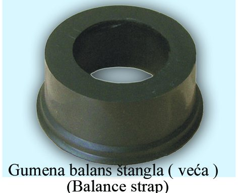 Guma balans štangle – veća