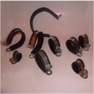 Gumeno-metalne obujmice