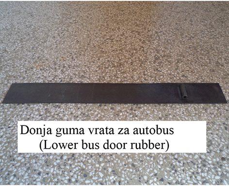 Donja guma vrata za autobus